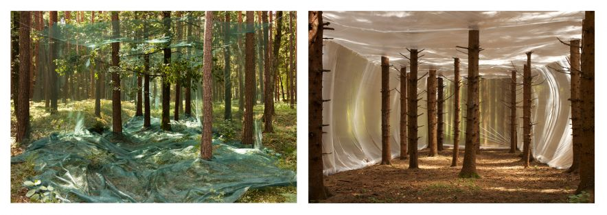 Plastic on Nature, 2011. To Build a Home , 2013.